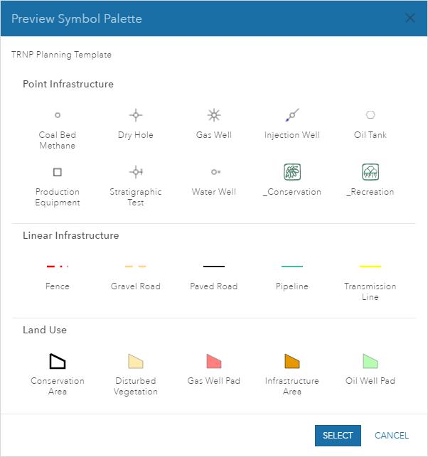 Erstellen eigener Vorlagen—Portal for ArcGIS | ArcGIS Enterprise