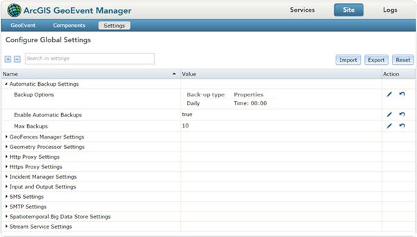 Managing global settings—Administer(10 7 1) | ArcGIS Enterprise