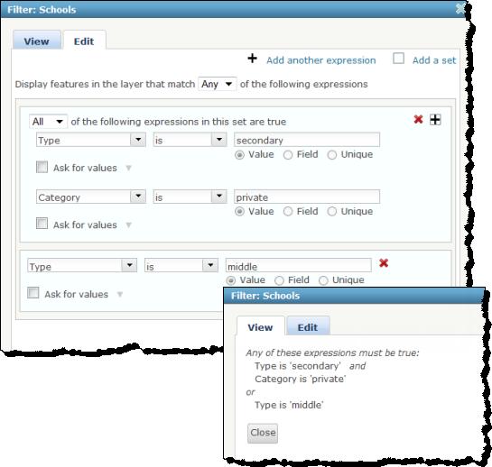 Apply Filtersportal For Arcgis Arcgis Enterprise