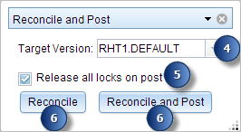 reconciling and posting event data event editor for roads and