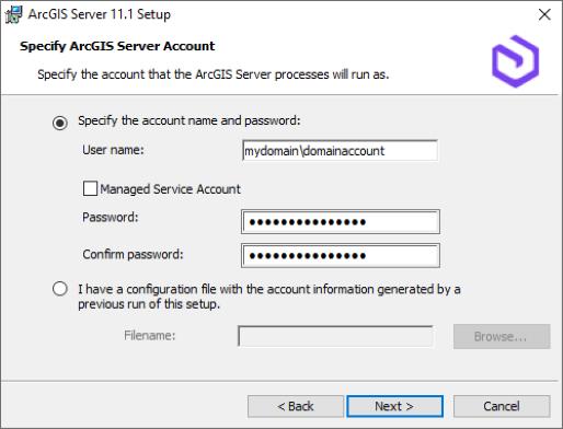Install ArcGIS Server on one machine—ArcGIS Server (Windows